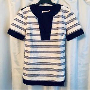 💥 3/$25 Tory Burch Striped Tunic Size XS